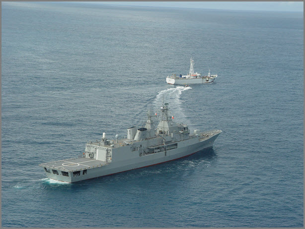 CCAMLR IUU Vessel Boarding Operation in New Zealand EEZ